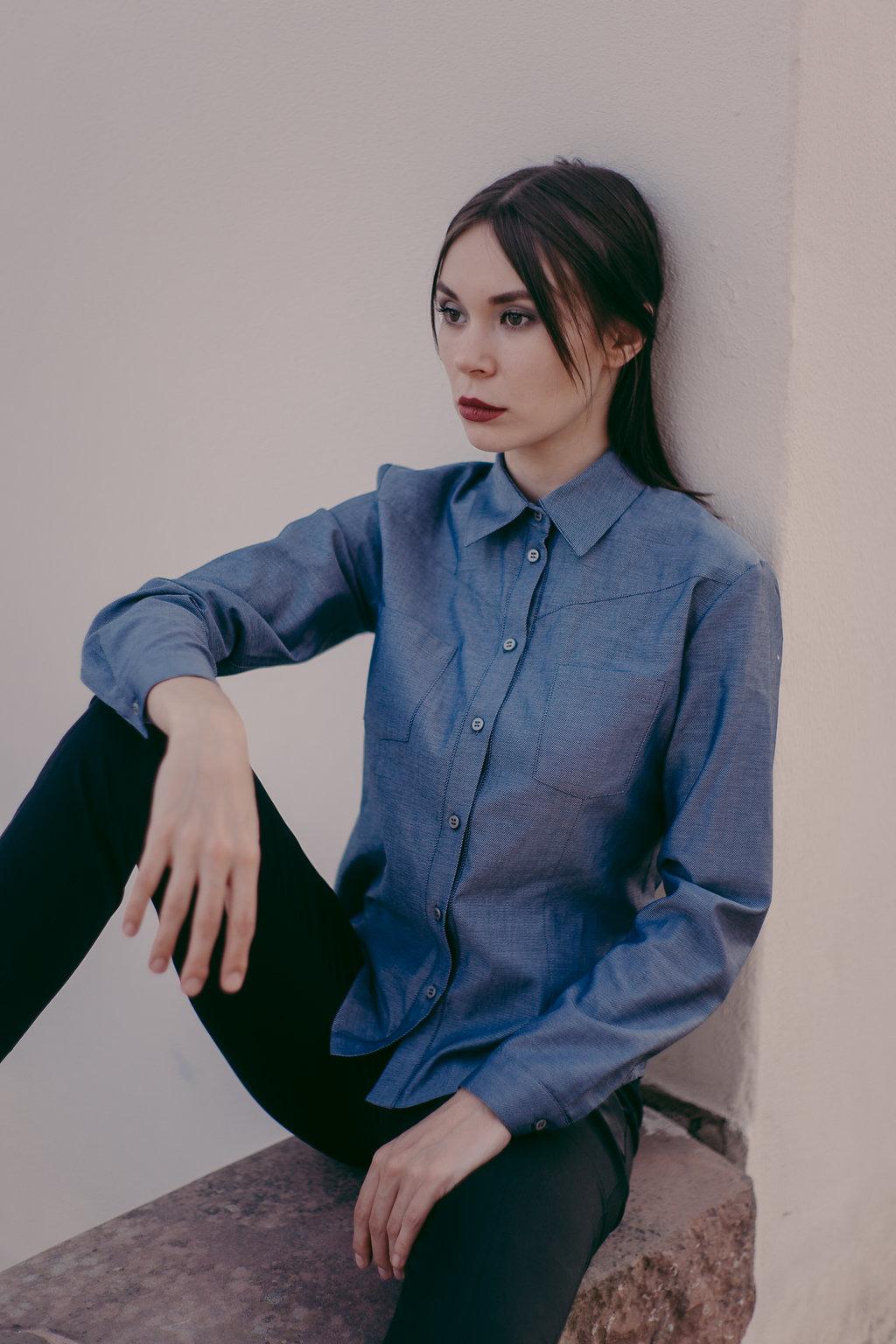 Classic shirt Siuma-1
